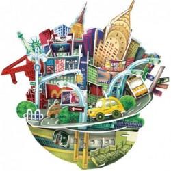 Puzzle 3D City Scape New York