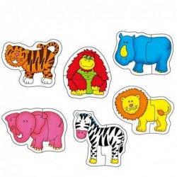 Baby Puzzle Jungle - Puzzle...