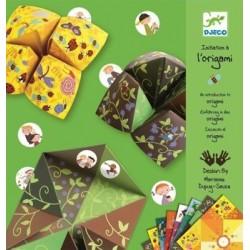 Set Initiere in origami, verde